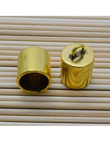 2 Pz. Capicorda per cordone oro