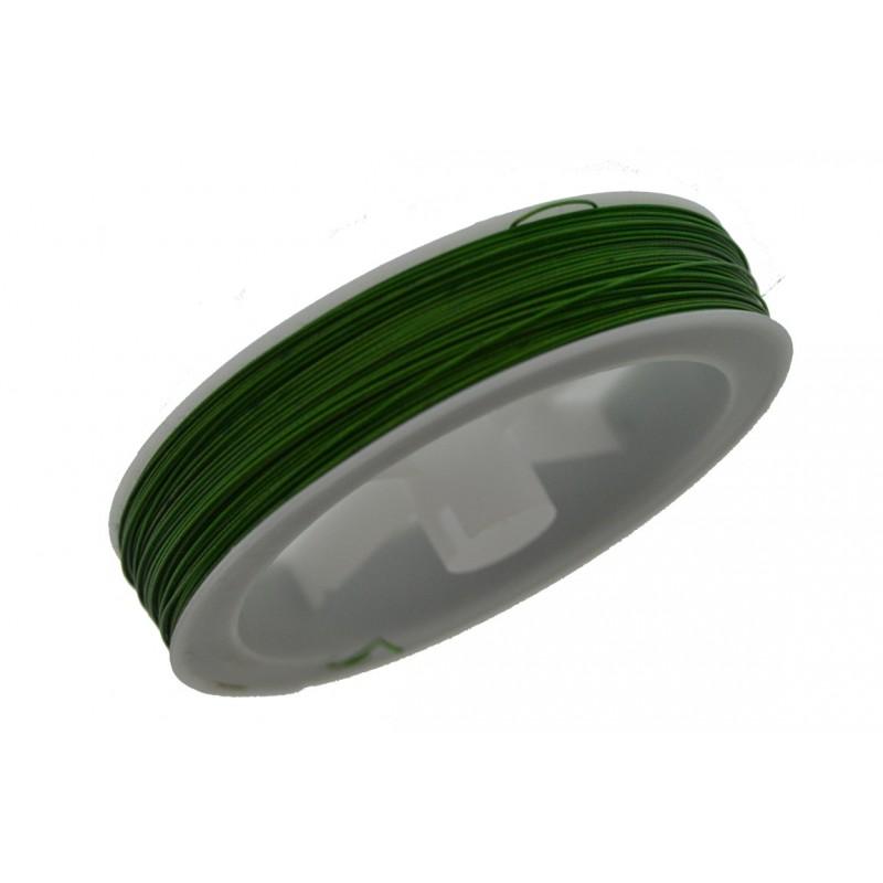 Cavetto in acciaio 0.45 mm Colore verde