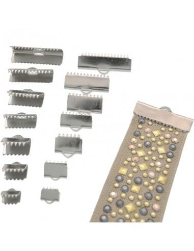 Terminale per NASTRI capicorda in acciaio misura varia