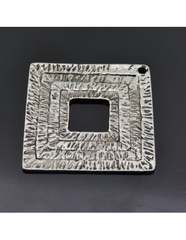 Ciondolo Zama quadrato grande Argento